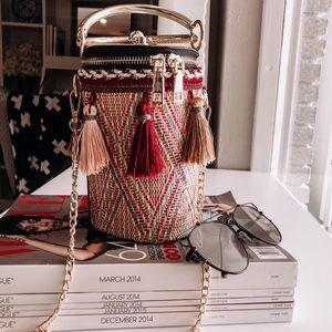 Calypso Tassel Bucket Bag ❤️